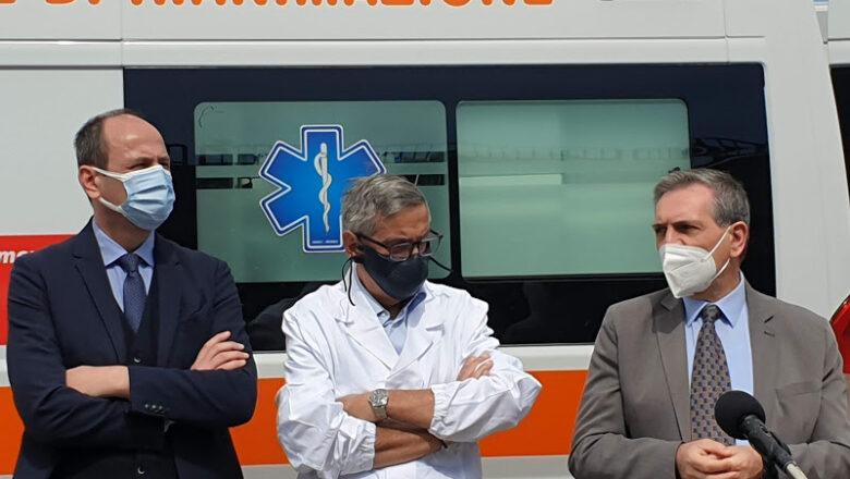 """All'ospedale """"Santa Maria della Stella"""" donata una nuova ambulanza di ultima generazione"""