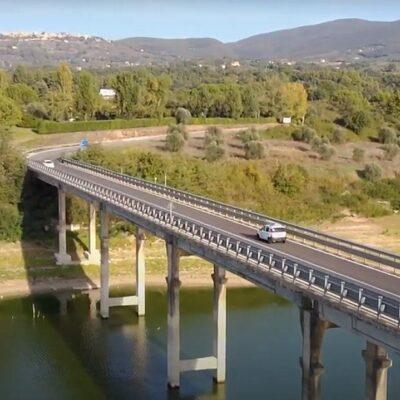 Ponte sul lago di Corbara, chiusura al traffico giovedi 20 maggio
