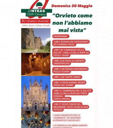 """""""Orvieto come non l'abbiamo mai vista"""". Anteas di Orvieto riparte con più spazio ai giovani 🗓 🗺"""