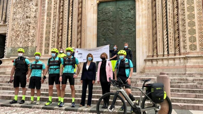 "Anche Orvieto al fianco di ""Umbria coast to coast – Popy on the road"""