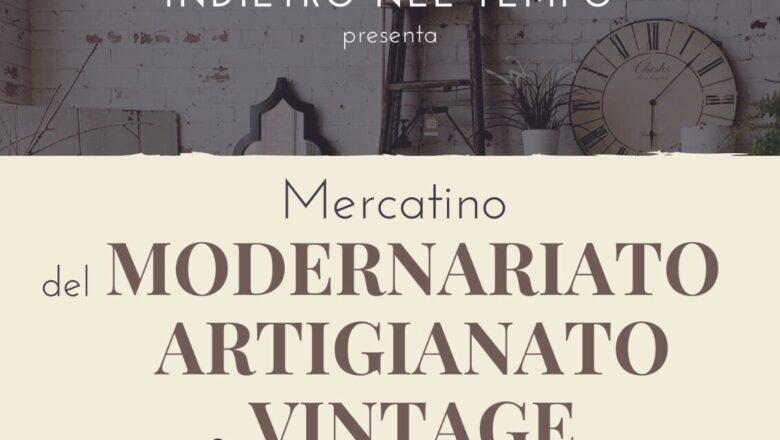 """""""Indietro nel tempo"""". Mercatino di Antiquariato, collezionismo, rigatteria, modernariato e artigianato 🗓 🗺"""