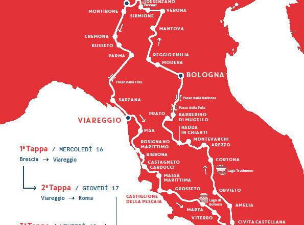 """Aspettando la Mille Miglia – 39a edizione 2021. Presentata a Orvieto """"la corsa più bella del mondo"""" 🗓 🗺"""