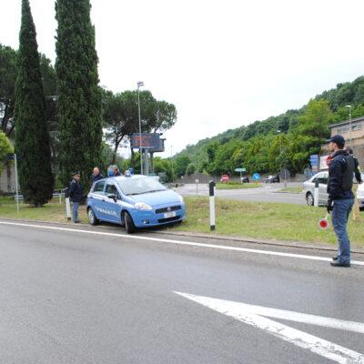"""Servizi di controllo interforze nel fine settimana,  particolare attenzione al traffico sulla SS79 bis sede de""""La Castellana"""""""