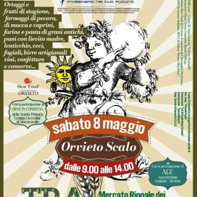 TraMercato a Orvieto Scalo, sabato 8 maggio