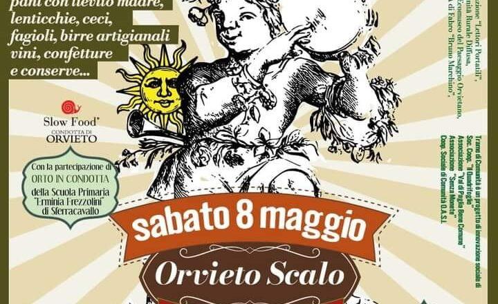 TraMercato a Orvieto Scalo, sabato 8 maggio 🗓 🗺