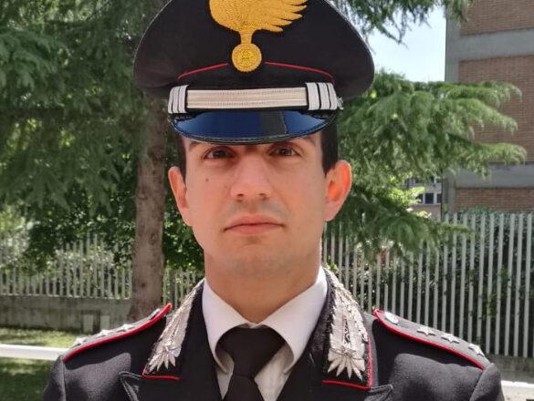 Il capitano Giuseppe Viviano di nuovo al comando della Compagnia Carabinieri Orvieto