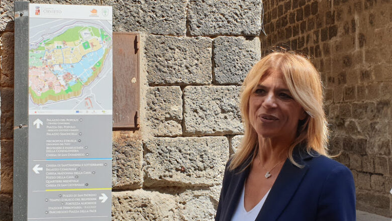 Orvieto, nuova segnaletica turistica interattiva e moderna