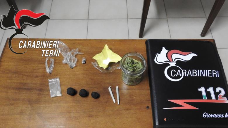 A Fabro e Ficulle denunciati due orvietani per droga