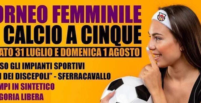 """1° Torneo Femminile di calcio a 5 al Centro Sportivo """"Oasi dei Discepoli"""""""