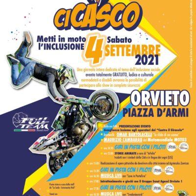 """""""CiCasco – Metti in moto l'INCLUSIONE"""". Sabato 4 Settembre in piazza d'Armi"""